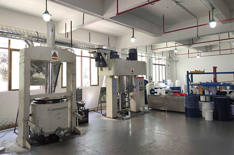 Silicone Ink Manufacturer Production Base
